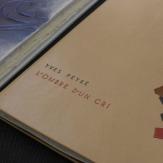 Modern sans serif titling: Christine Giard