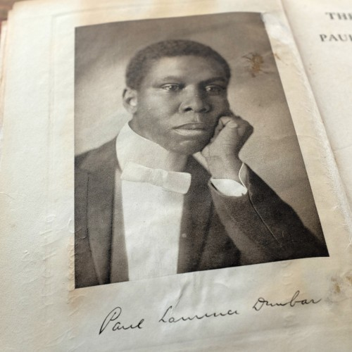 Photogravure Portrait of Paul Laurence Dunbar