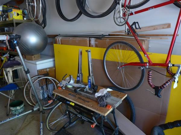 My host's husband likes bikes too