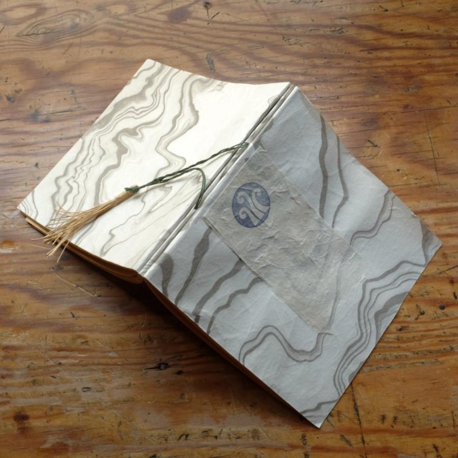 Suminagashi Marbled Notebook